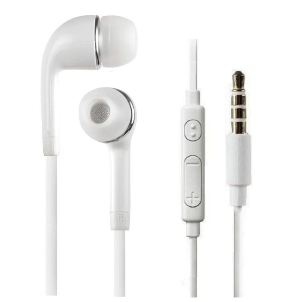 Samsung earphones white - headphone mount white
