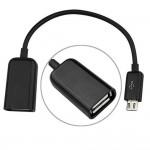USB OTG Adapter Cable for Sony Xperia M4 Aqua Dual 8GB